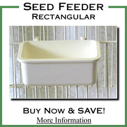 Seed Feeder Rectangle
